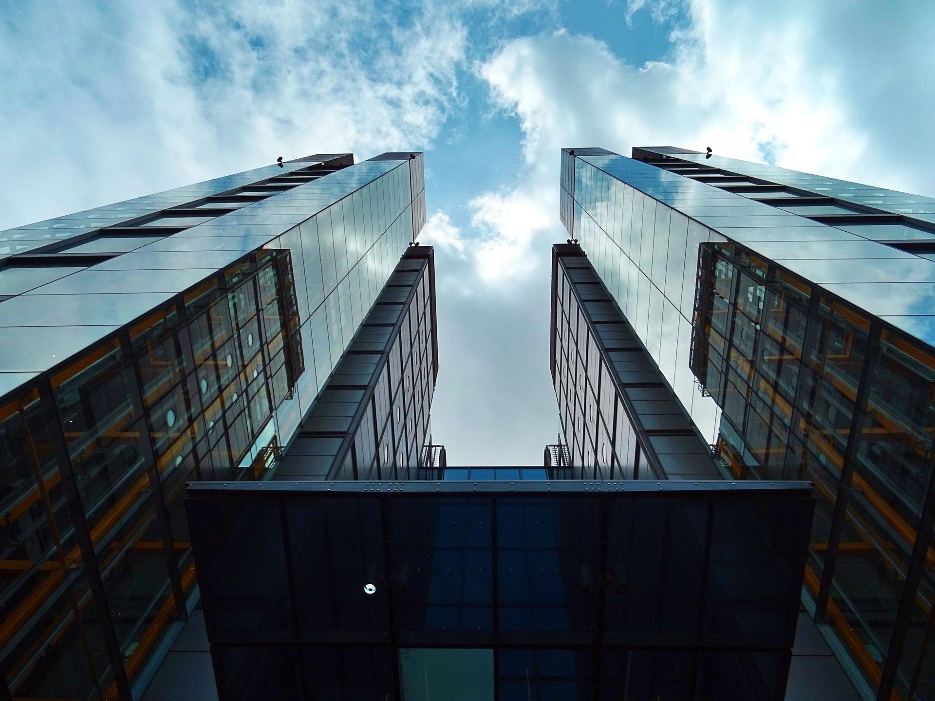 Architectural Design Architecture Blue Sky Building 443378